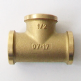 Brass Foundry 1/2 inch BSP Female Iron Tee - 07002231
